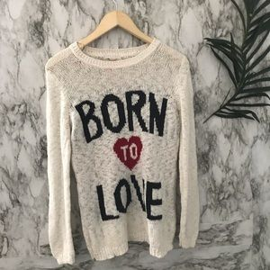 Forever 21 sweater (small)